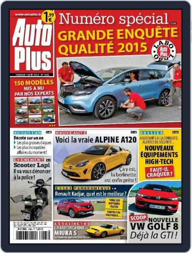 Auto Plus France (Digital) August 6th, 2015 Issue Cover