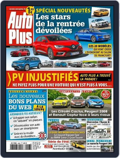 Auto Plus France (Digital) August 13th, 2015 Issue Cover