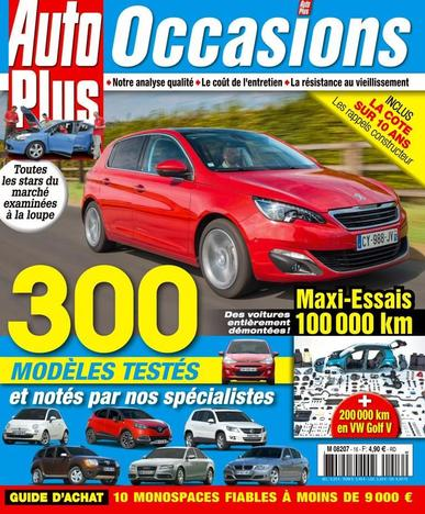 Auto Plus France (Digital) August 31st, 2015 Issue Cover