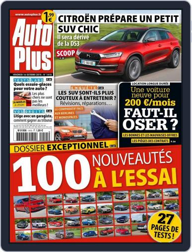 Auto Plus France October 15th, 2015 Digital Back Issue Cover