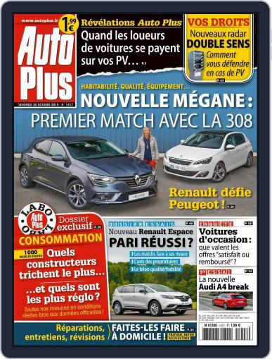 Auto Plus France (Digital) October 29th, 2015 Issue Cover