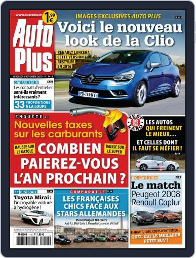 Auto Plus France (Digital) November 5th, 2015 Issue Cover