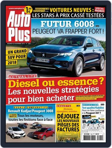 Auto Plus France November 20th, 2015 Digital Back Issue Cover