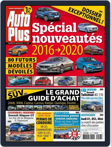 Auto Plus France (Digital) January 8th, 2016 Issue Cover