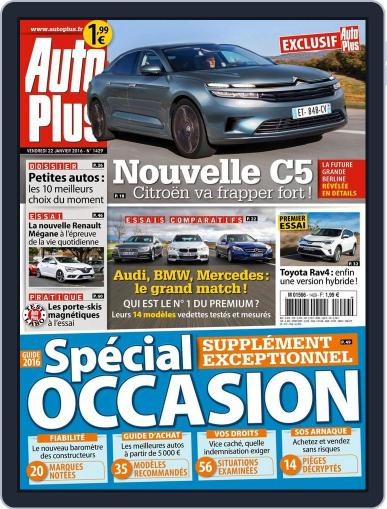 Auto Plus France (Digital) January 22nd, 2016 Issue Cover