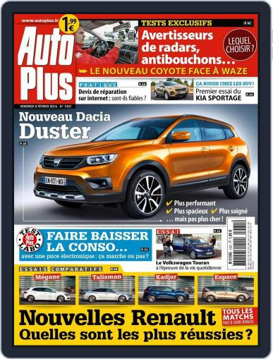 Auto Plus France February 5th, 2016 Digital Back Issue Cover