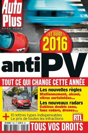 Auto Plus France (Digital) February 8th, 2016 Issue Cover