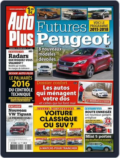 Auto Plus France February 12th, 2016 Digital Back Issue Cover