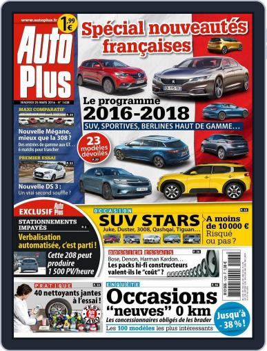 Auto Plus France (Digital) March 25th, 2016 Issue Cover