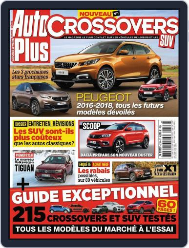 Auto Plus France (Digital) April 15th, 2016 Issue Cover
