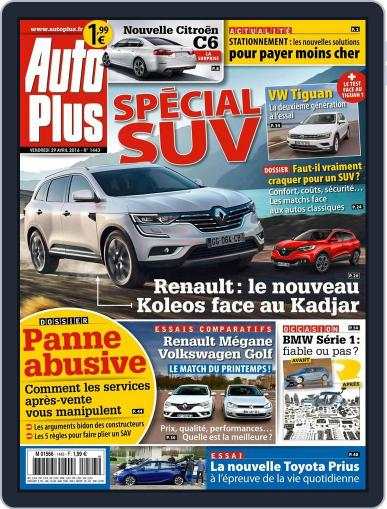 Auto Plus France April 29th, 2016 Digital Back Issue Cover