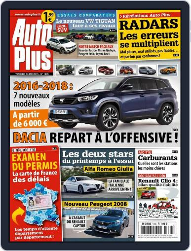 Auto Plus France May 13th, 2016 Digital Back Issue Cover