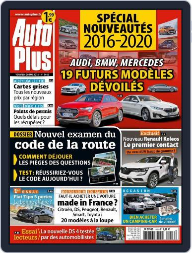 Auto Plus France (Digital) May 20th, 2016 Issue Cover