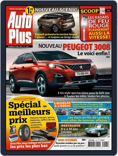 Auto Plus France (Digital) May 27th, 2016 Issue Cover