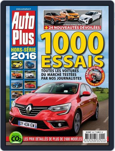 Auto Plus France (Digital) June 10th, 2016 Issue Cover