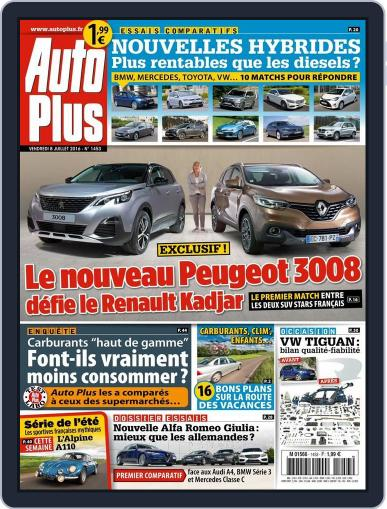 Auto Plus France July 8th, 2016 Digital Back Issue Cover