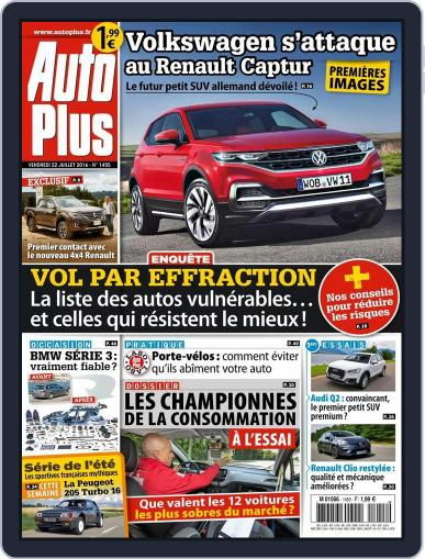 Auto Plus France (Digital) July 21st, 2016 Issue Cover