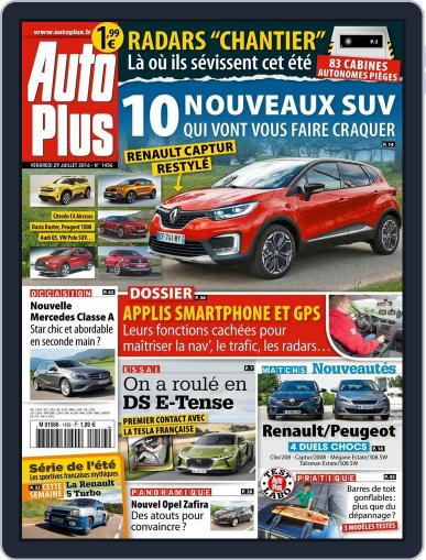Auto Plus France (Digital) July 29th, 2016 Issue Cover
