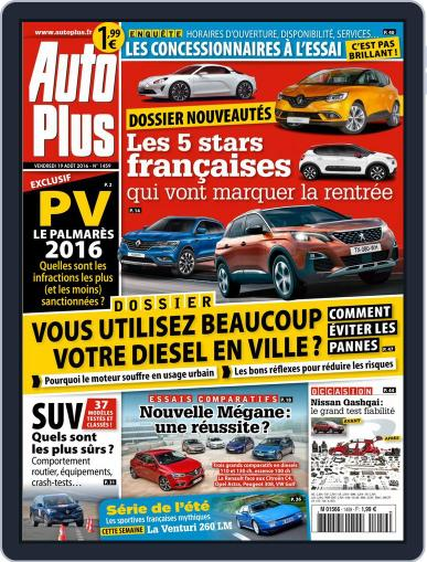 Auto Plus France (Digital) August 19th, 2016 Issue Cover