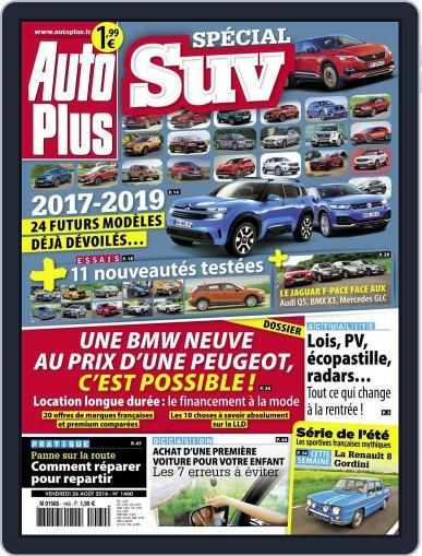 Auto Plus France (Digital) August 26th, 2016 Issue Cover