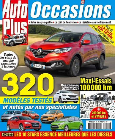 Auto Plus France (Digital) September 1st, 2016 Issue Cover