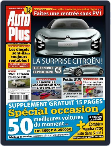 Auto Plus France (Digital) September 2nd, 2016 Issue Cover