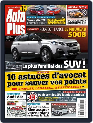 Auto Plus France September 9th, 2016 Digital Back Issue Cover