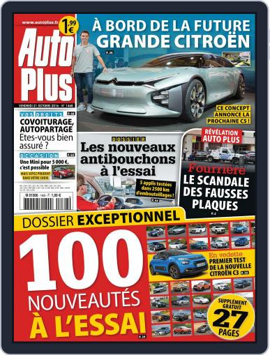 Auto Plus France (Digital) October 21st, 2016 Issue Cover