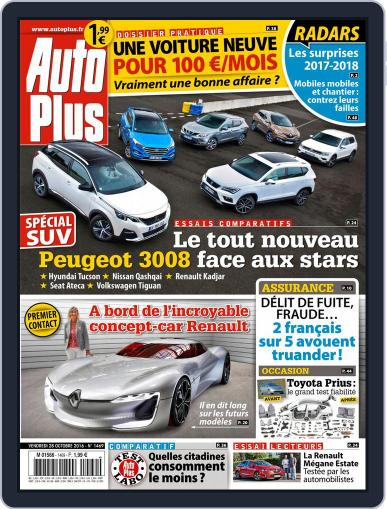 Auto Plus France (Digital) October 28th, 2016 Issue Cover