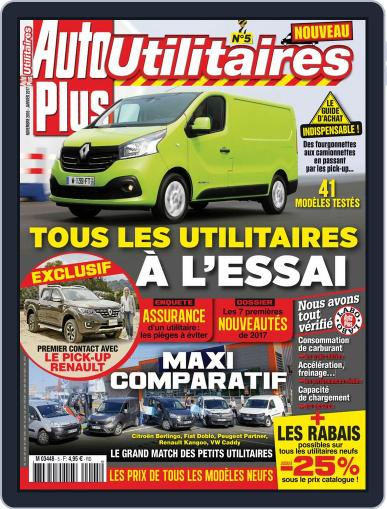 Auto Plus France November 1st, 2016 Digital Back Issue Cover