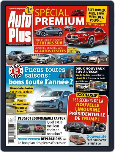 Auto Plus France December 2nd, 2016 Digital Back Issue Cover