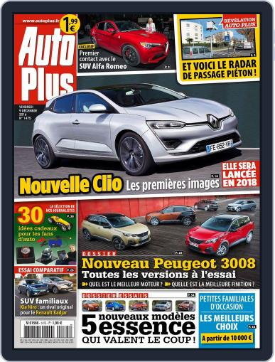 Auto Plus France (Digital) December 9th, 2016 Issue Cover