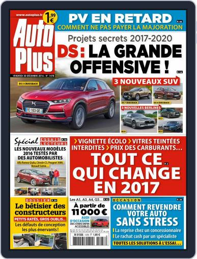 Auto Plus France December 30th, 2016 Digital Back Issue Cover