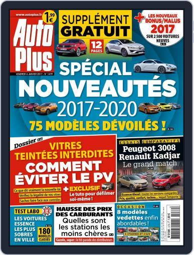 Auto Plus France (Digital) January 6th, 2017 Issue Cover