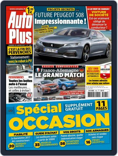Auto Plus France (Digital) January 20th, 2017 Issue Cover