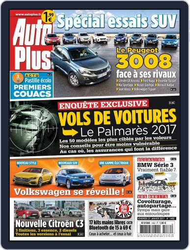 Auto Plus France (Digital) January 27th, 2017 Issue Cover
