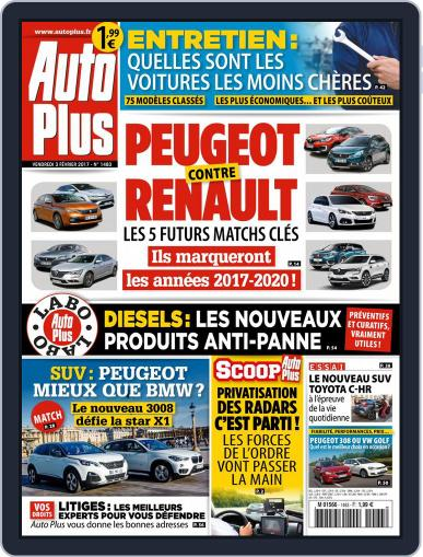 Auto Plus France (Digital) February 3rd, 2017 Issue Cover
