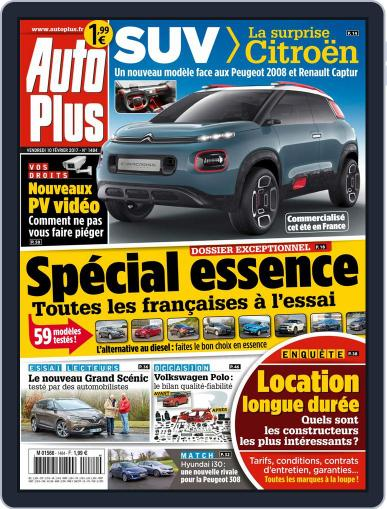 Auto Plus France February 10th, 2017 Digital Back Issue Cover