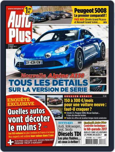Auto Plus France (Digital) March 10th, 2017 Issue Cover