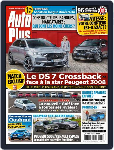 Auto Plus France (Digital) April 7th, 2017 Issue Cover