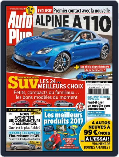 Auto Plus France (Digital) April 14th, 2017 Issue Cover