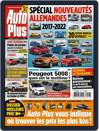Auto Plus France (Digital) May 19th, 2017 Issue Cover