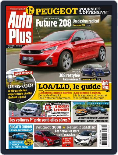 Auto Plus France (Digital) June 2nd, 2017 Issue Cover