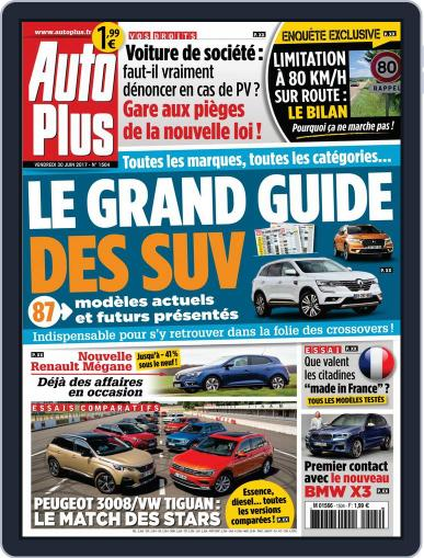Auto Plus France June 30th, 2017 Digital Back Issue Cover