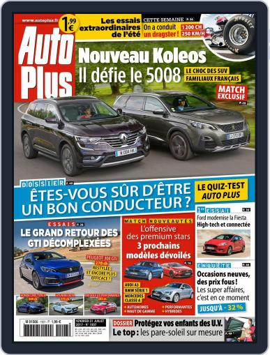 Auto Plus France (Digital) July 21st, 2017 Issue Cover