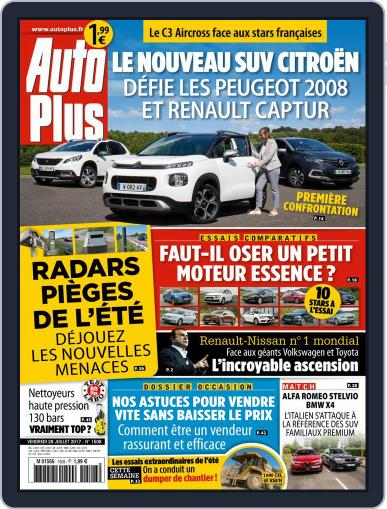 Auto Plus France (Digital) July 28th, 2017 Issue Cover