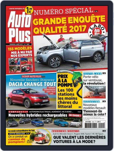 Auto Plus France (Digital) August 4th, 2017 Issue Cover
