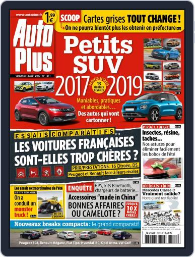 Auto Plus France August 18th, 2017 Digital Back Issue Cover