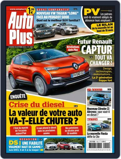 Auto Plus France (Digital) October 20th, 2017 Issue Cover