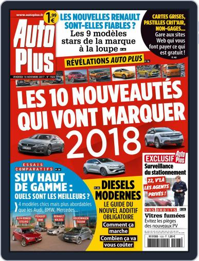 Auto Plus France November 10th, 2017 Digital Back Issue Cover